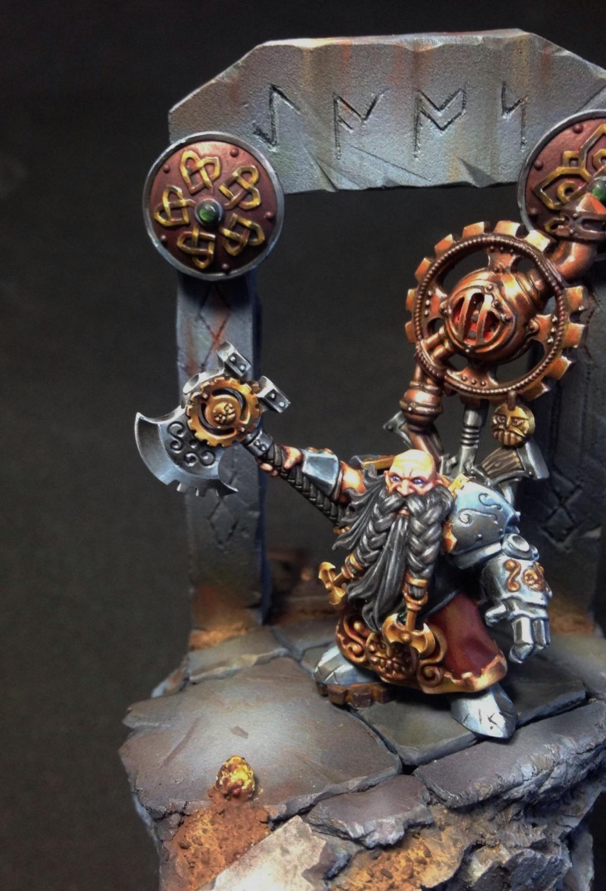 Dwarf Engineer Golden Demon 2014 Project By Steve