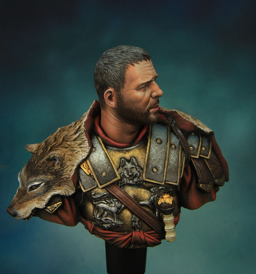Roman General 110 Bust From Young Miniatures By Kirill