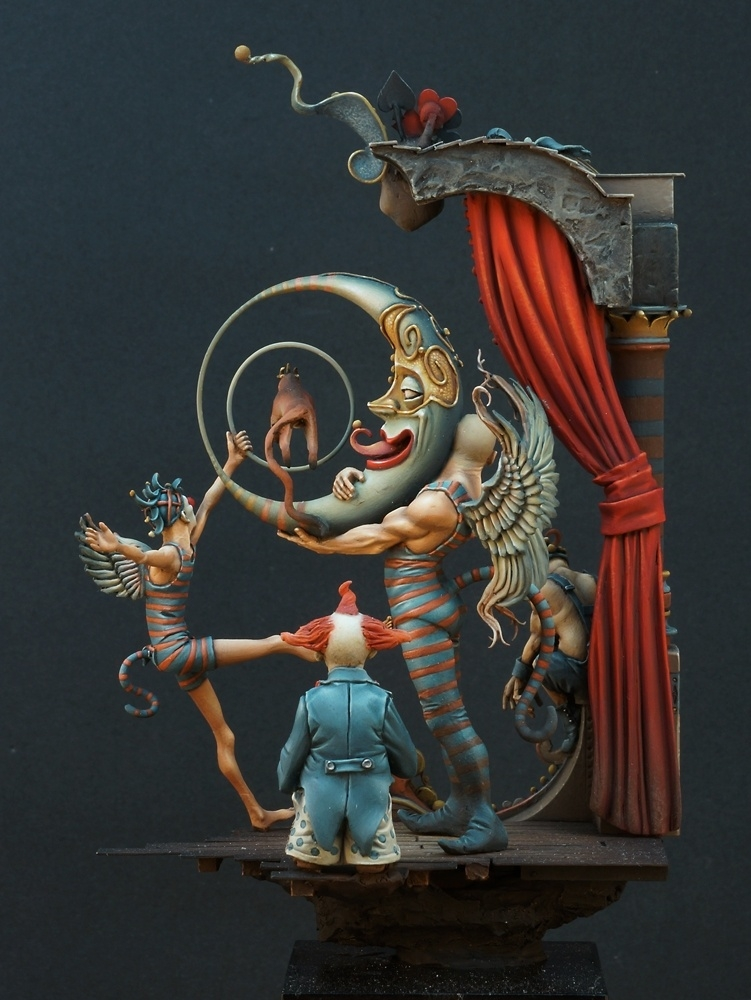 Freak Show by Michael Kontraros  PuttyPaint