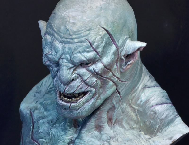 Azog The White Orc By Roman Lappat 183 Putty Amp Paint