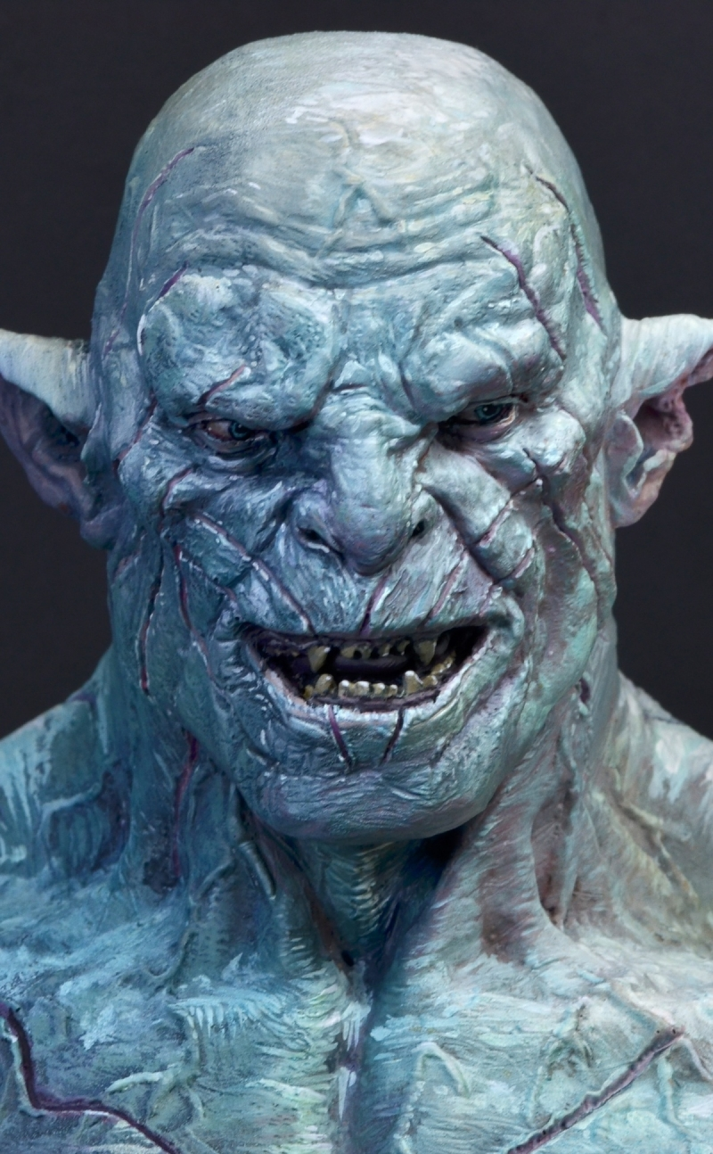 Azog The White Orc By Roman Lappat PuttyampPaint