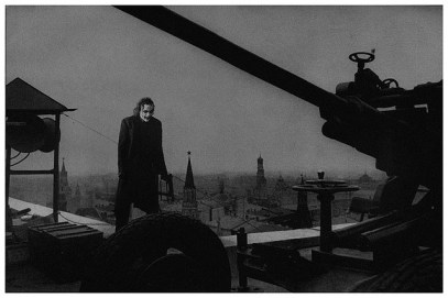coringa-External post defense on the hotel roof. Moscow, 1941