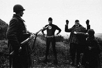 flash-Captivity of German Soldiers, 25 april 1945