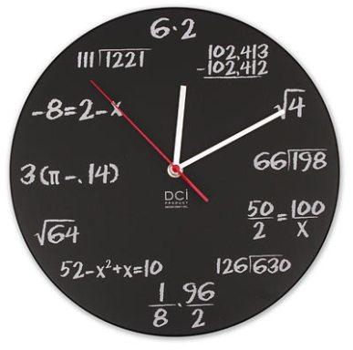 Relogio Matemático