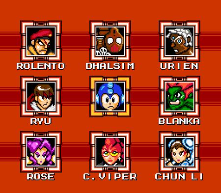 Street Fighter X Mega Man mega1