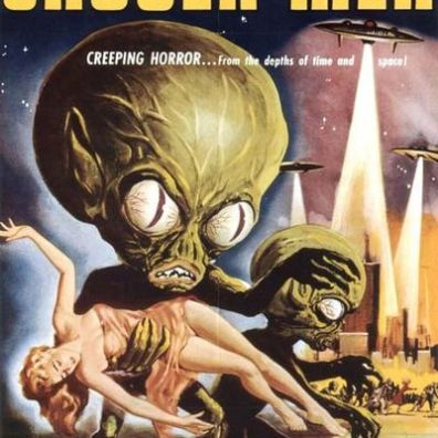Old-Horror-Films-Retro-Film-Posters-Invasion-Of-The-Saucer-Men