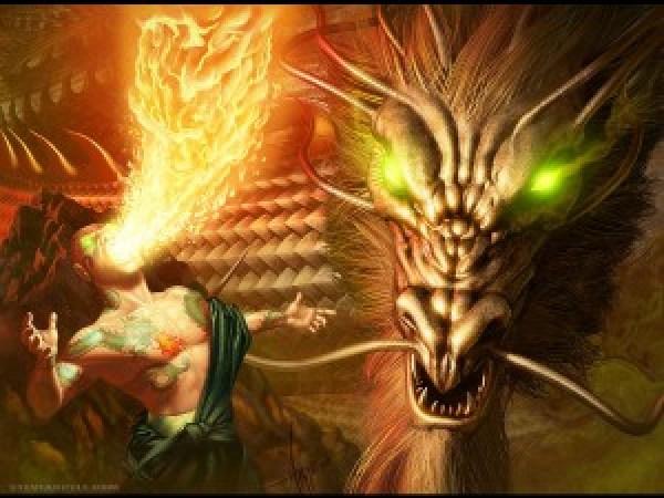 Fanart do clã do dragão