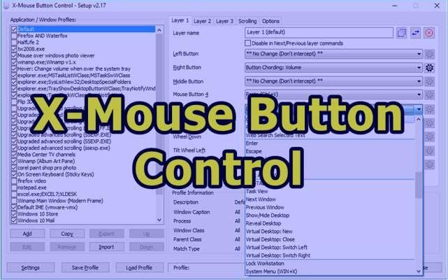 X Mouse Button Control Download Windows