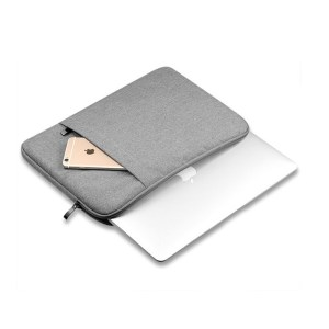Nylon laptop sleeve voor Macbook Air en Pro