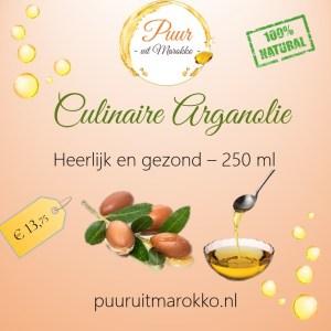 culinaire arganolie