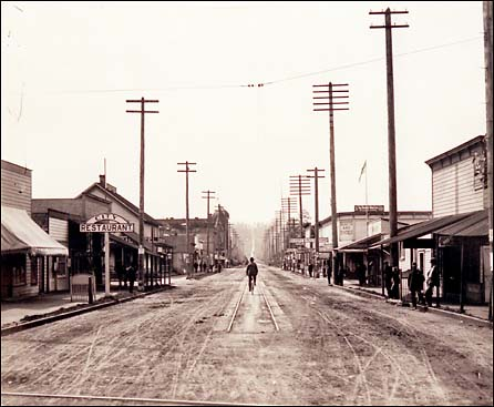 Downtown Puyallup 1890