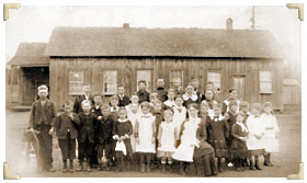 Puyallup's Central School old class photo