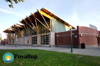 Pioneer Park Pavilion in Puyallup