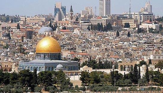 Jerusalem - Credit: WorldSpaceWeek.org