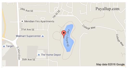 Bradley Lake Park Map