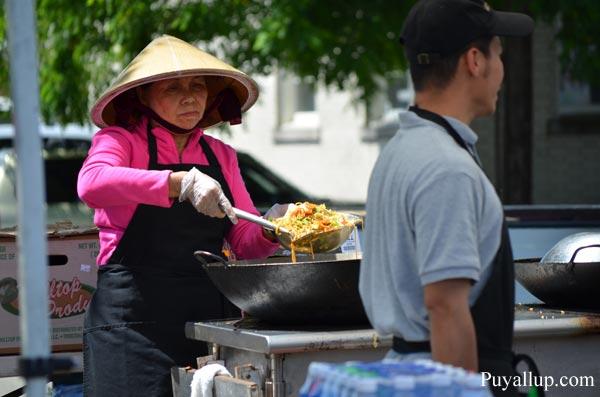 Food Vendor at Meeker Days in Puyallup Washington