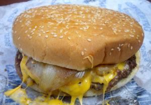 The Earthquake Burger at the Puyallup Fair 2013.
