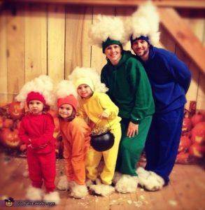 Rainbow Family Costume Puyallup