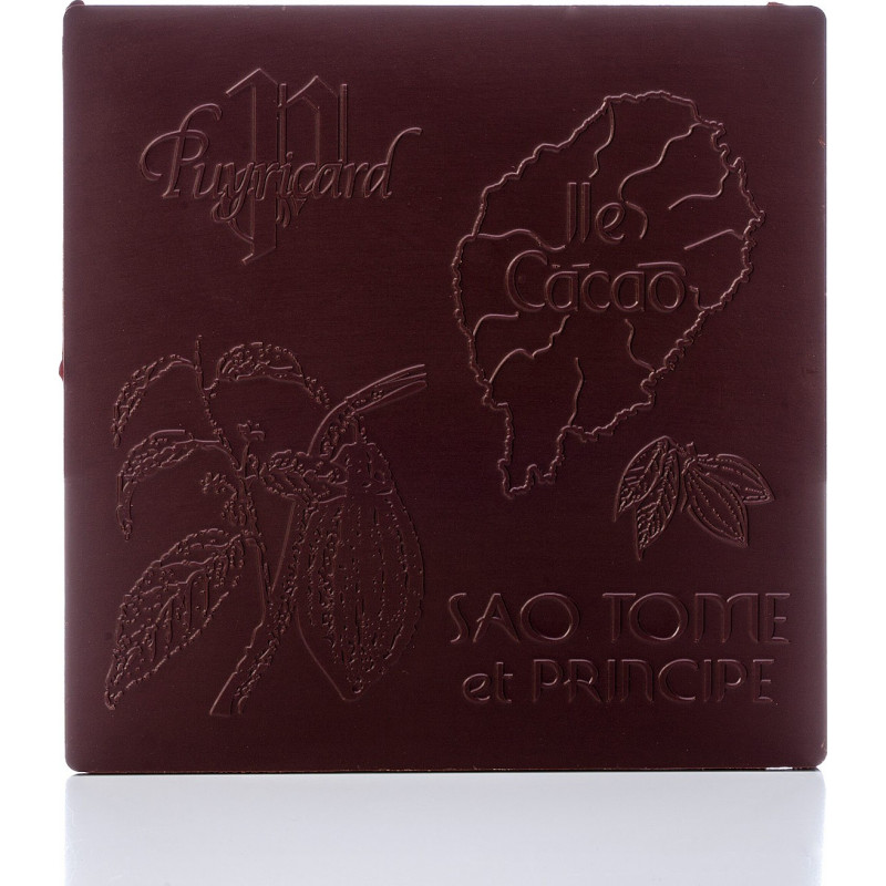tablette chocolat noir 87 pure origine sao tome et principe
