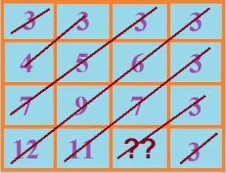this describes detailed solution of missing number puzzle in puzzles9
