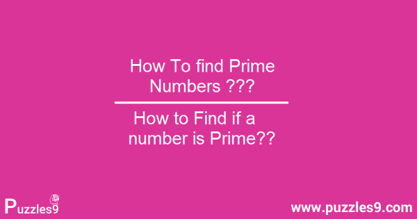 How To Find a Prime Number with maths aptitude tricks