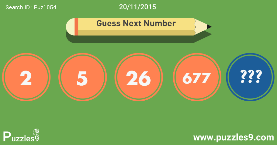 Guess next number in this number sequence puzzle : 20-11-2015 | Puz1054