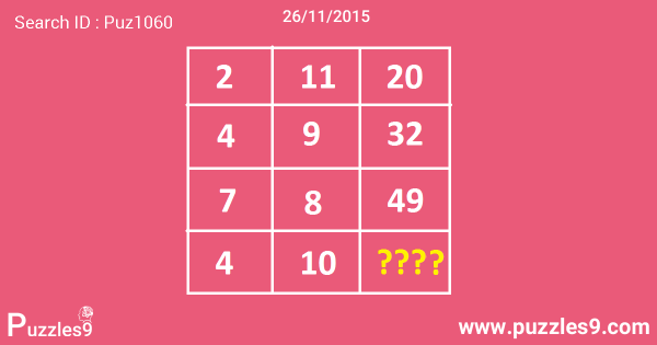 Missing Number Puzzles With Answers : Can You Solve This