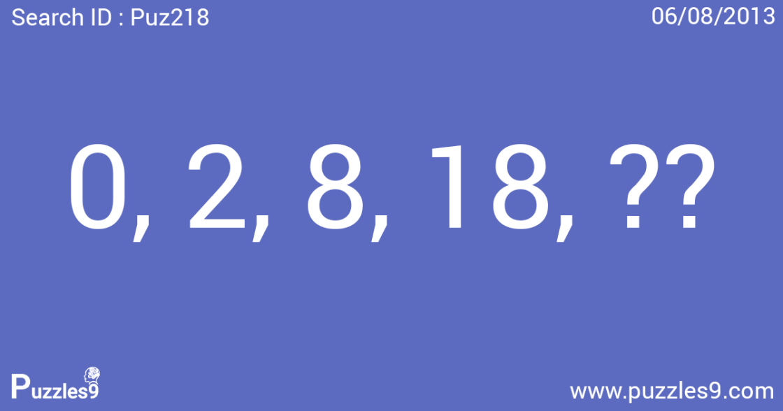 Can you solve this number sequence puzzle with answer | Puz218
