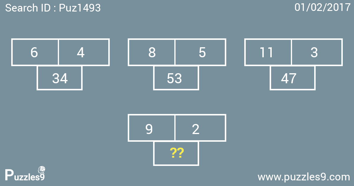Awesome missing number puzzles with answers