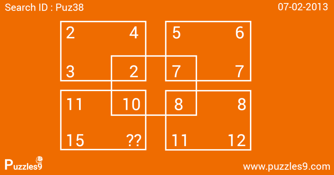 hard number sequence puzzle with answer | Puz38 - 07 feb 2013