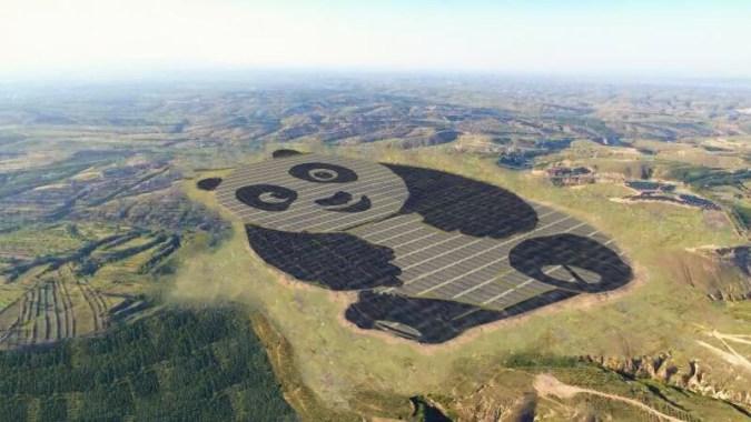 Znalezione obrazy dla zapytania Panda PV solar