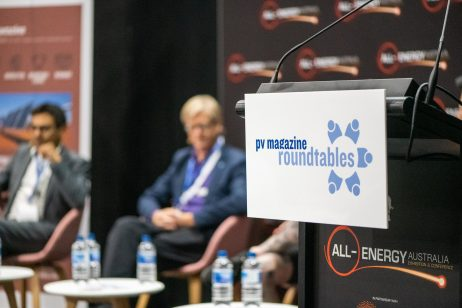 October 23, 2019, Melbourne, Australia - All Energy solar trade show.