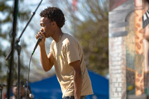 Bloomfest Baton Rouge, Michael Armstead, live performance captured by Mr Don M. Green