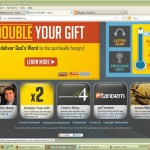 Double Your Gift: Visit Back to the Bible – Home Page