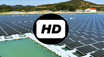 'Mega' floating solar power plants open in Hyogo Prefecture of Japan