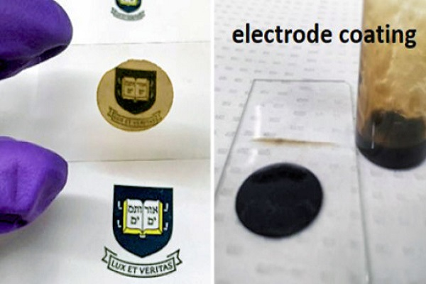 Left: Ultra-thin material
