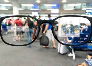 Solar powered eye-tracking glasses provide a new vision for the future of augmented reality