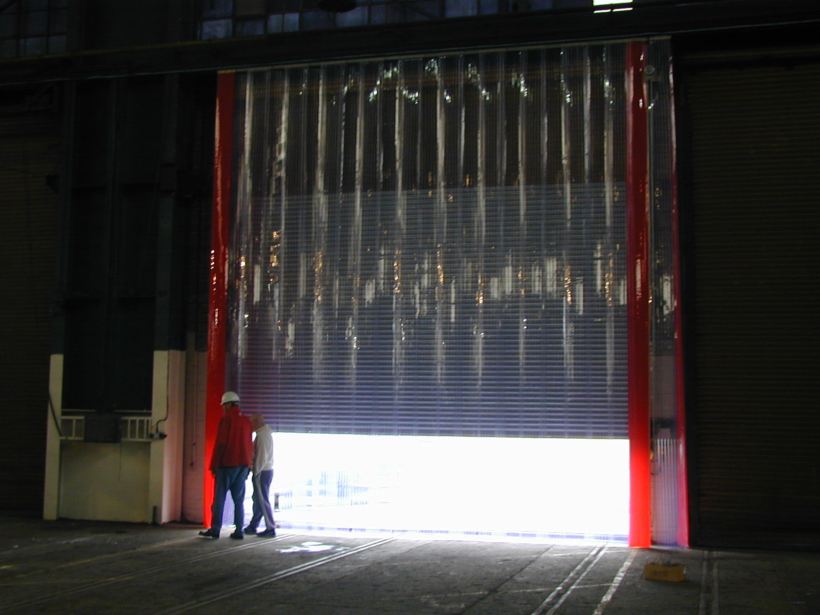 PVC Curtains in the Commercial Sector  PVC Curtains  Get