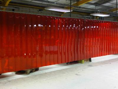 PVC Strip Curtain UK Sales  TEL 01536 525 136 for a PVC