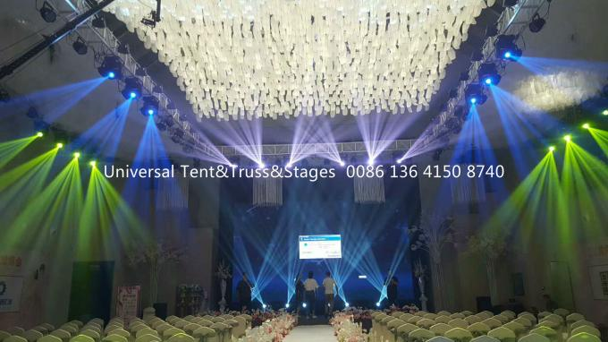 portable wedding used movable stage lighting truss for outdoor event and party