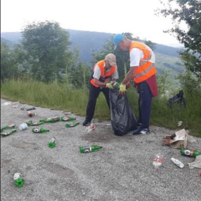 """Od 1. juna 2019. godine je u toku realizacija javnog rada """"NEKA BUDE ČISTO"""" za 2019. godinu"""
