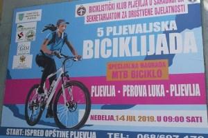 U nedelju V biciklijada na putnom pravcu Pljevlja-Perova luka-Pljevlja