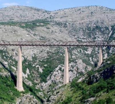 Most na MALOJ RIJECI: Veliko ČUDO male Crne Gore – JEDINSTVENA GRAĐEVINA najvisočija u EVROPI