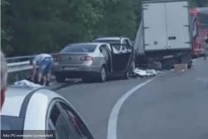 Udes na putu Podgorica-Kolašin, dvije osobe povrijeđene