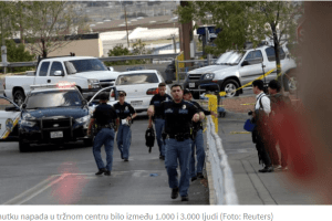 U pucnjavi u Teksasu 20 mrtvih i 26 ranjenih