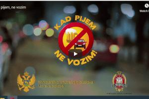 """OD SJUTRA POJAČANE KONTROLE – Počinje kampanja """"Kad pijem, ne vozim"""""""