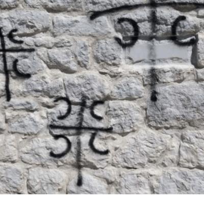 Vandali oskrnavili objekat Crnogorske crkve u Nikšiću