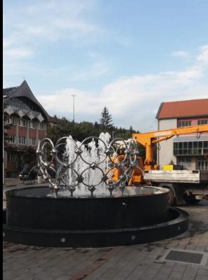 Posle više dana pauze gradska fontana opet u funkciji