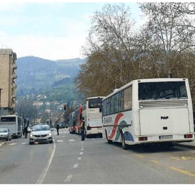 Prijepolje / Autobus pregazio čovjeka koji je ležao na putu