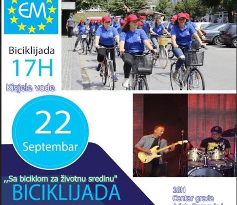 NVO Euromost – Poziv na Biciklijadu u Bijelom Polju